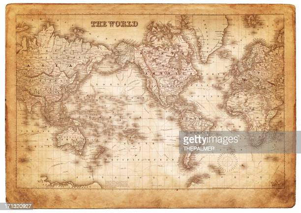 map of the world 1882