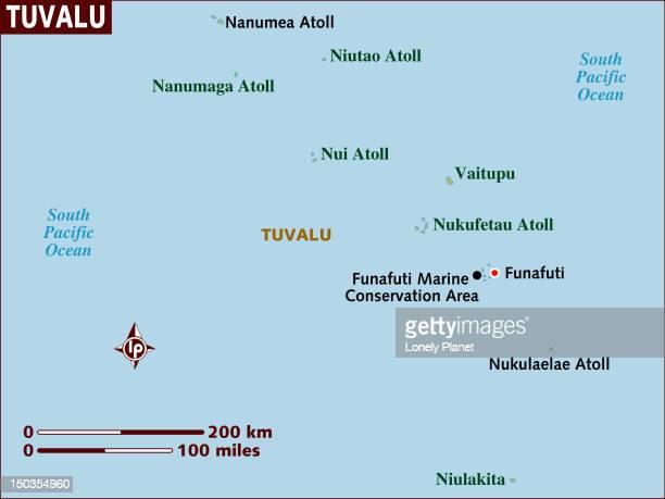 map of tuvalu. - tuvalu stock illustrations, clip art, cartoons, & icons