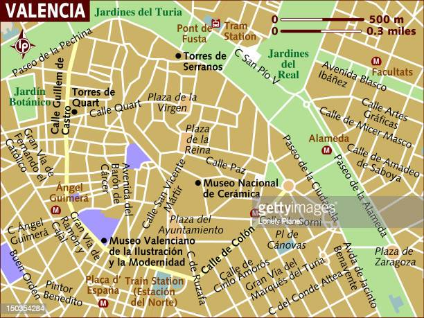 map of valencia. - comunidad autonoma de valencia stock illustrations