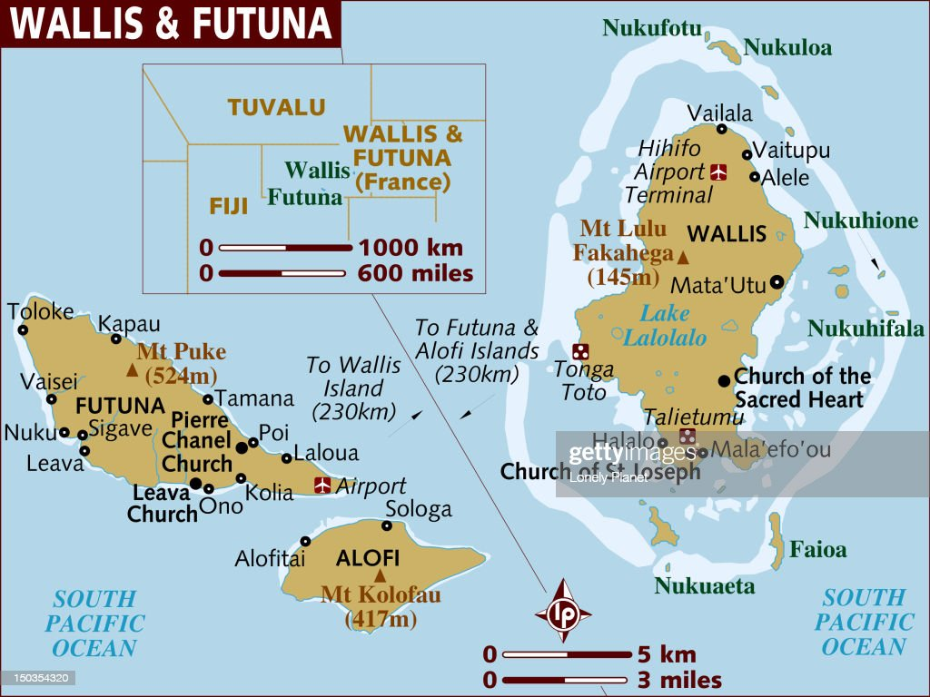 Map Of Wallis And Futuna Stock Illustration Getty Images