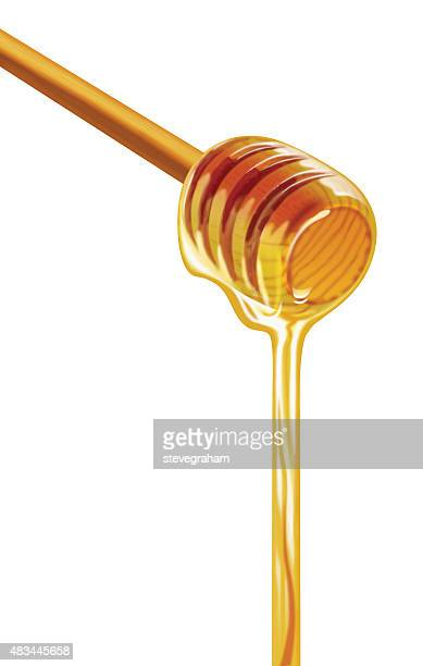 Maple Syrup on a Ladle