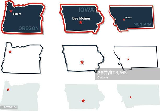 Maps of US States