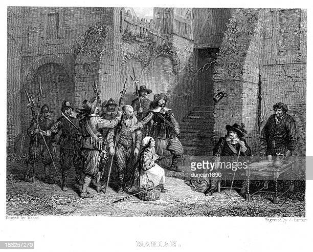 marian prisoners - cavalier cavalry stock illustrations, clip art, cartoons, & icons