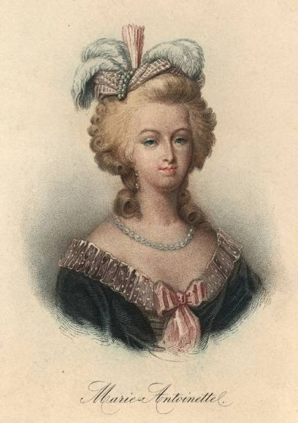 Marie Antoinette , Queen of France and consort of Louis...