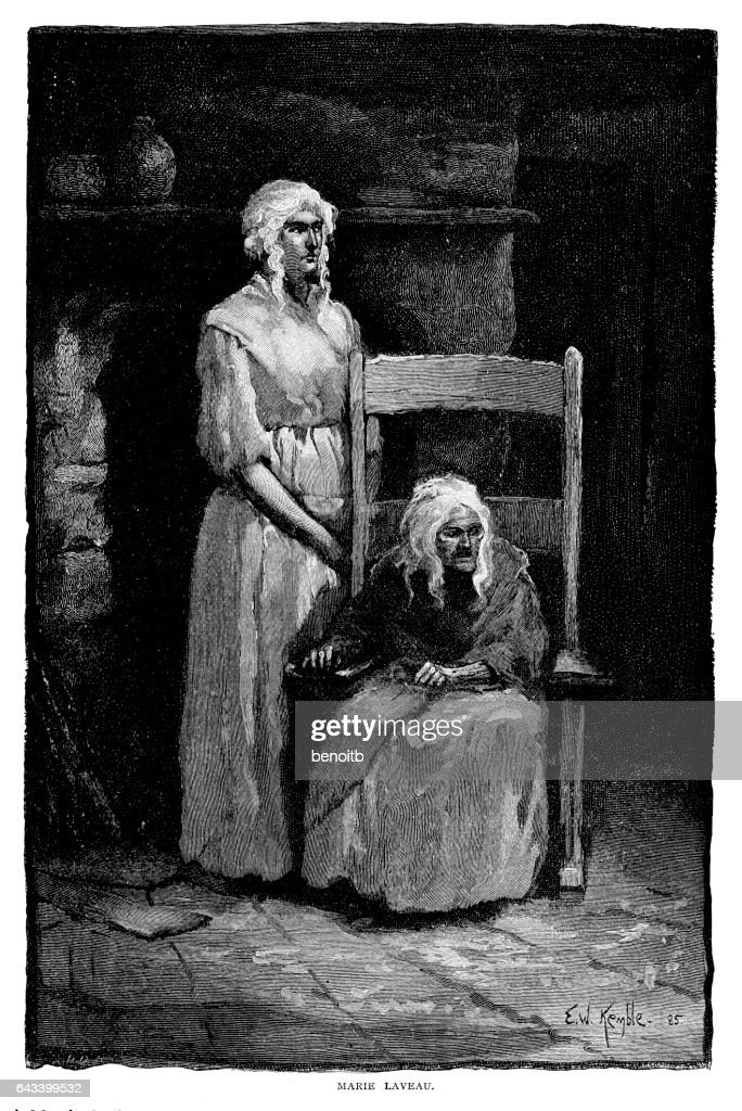 Marie Laveau Voodoo Priestess stock illustration - Getty Images