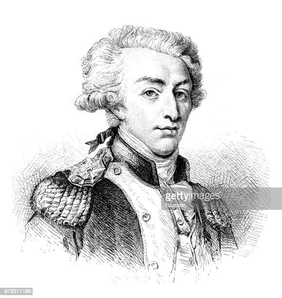 Marie-Joseph Paul Yves Roch Gilbert du Motier, Marquis de Lafayette 6 September 1757 – 20 May 1834), often known simply as Lafayette, French aristocrat and military officer ,key figure in the French Revolution of 1789 and the July Revolution of 1830