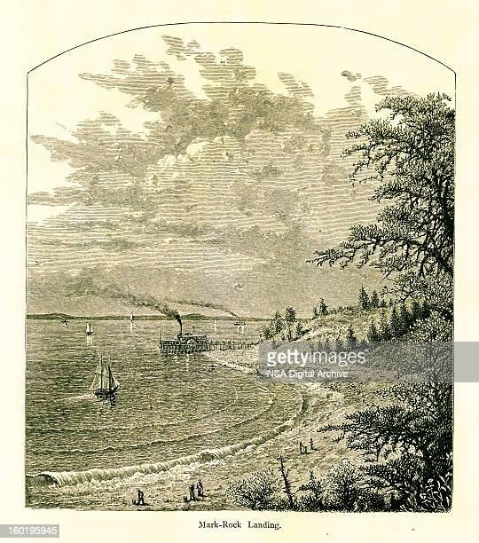 Mark-Rock Landing, Narragansett Bay