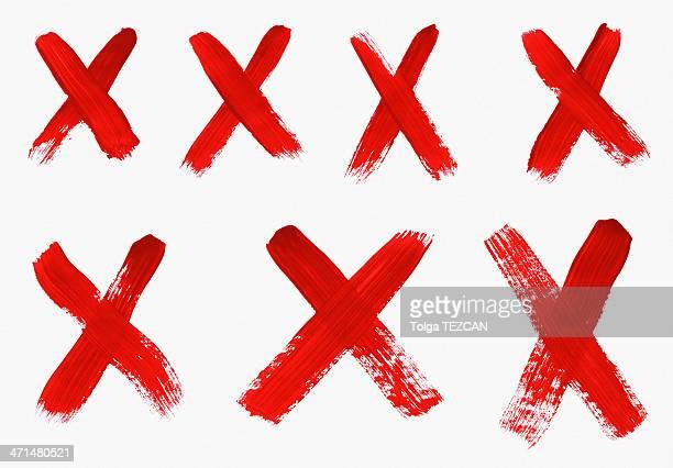 X marks