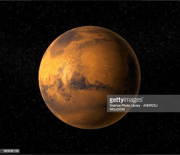 mars, artwork - manufactured object stock illustrations