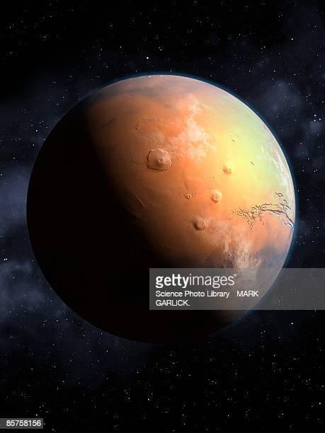 Mars, close-up
