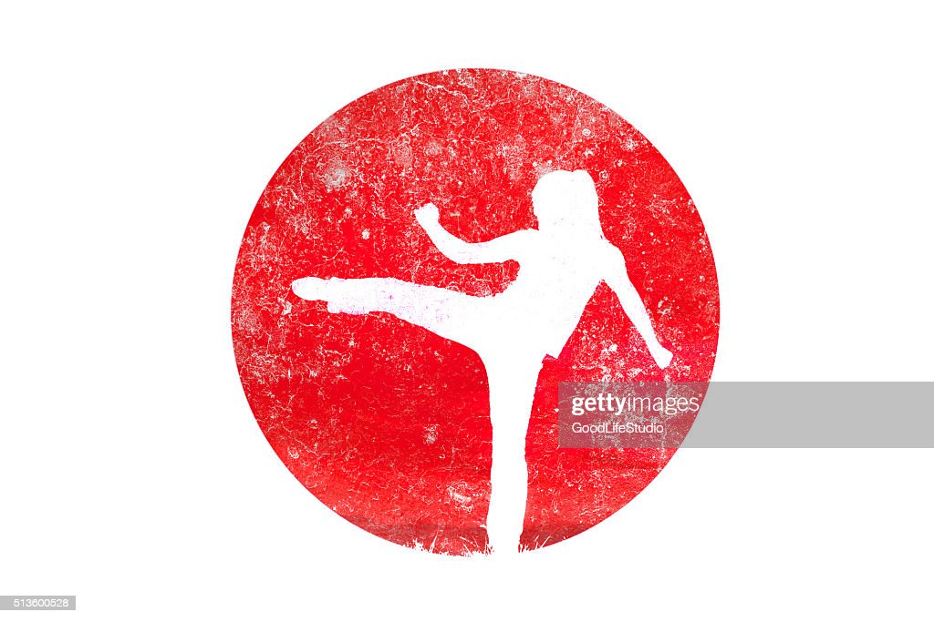 Martial arts : stock illustration