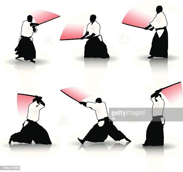 武術-べく剣道 - 決闘点のイラスト素材/クリップアート素材/マンガ素材/アイコン素材