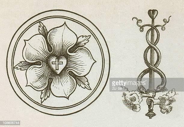 illustrations, cliparts, dessins animés et icônes de martin luther les panneaux indiquant printings - protestantisme