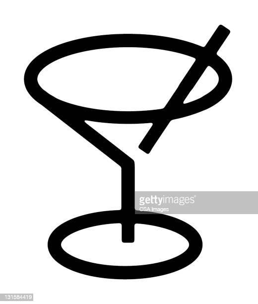 ilustraciones, imágenes clip art, dibujos animados e iconos de stock de martini - cóctel bebida alcohólica