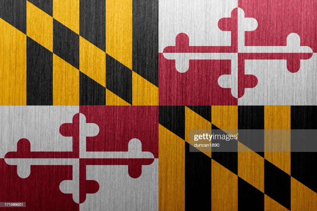 Maryland Flag : stock illustration