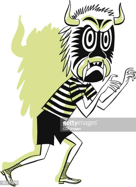 mask - naughty america stock illustrations