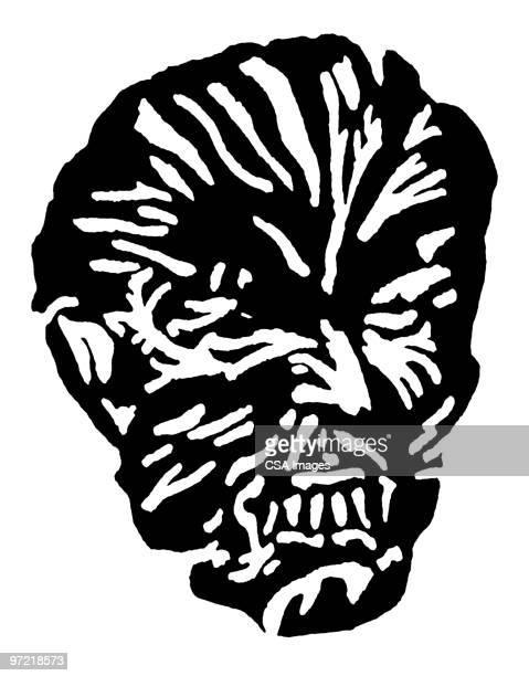 mask - werewolf stock illustrations, clip art, cartoons, & icons