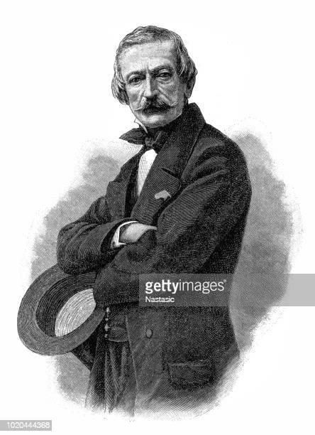 massimo taparelli, marquess of azeglio  (24 october 1798 – 15 january 1866), commonly called massimo d'azeglio, was a piedmontese-italian statesman, novelist and painter - statesman stock illustrations