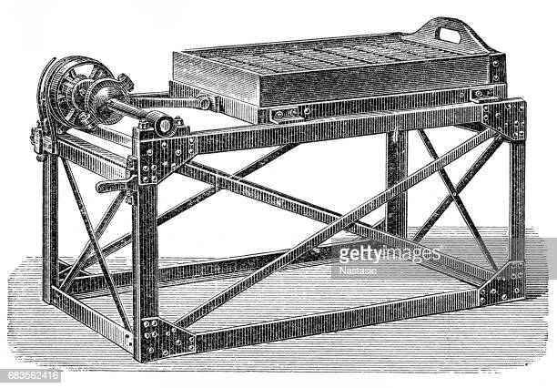 matches making machine ,cleaning machine - husk stock illustrations, clip art, cartoons, & icons