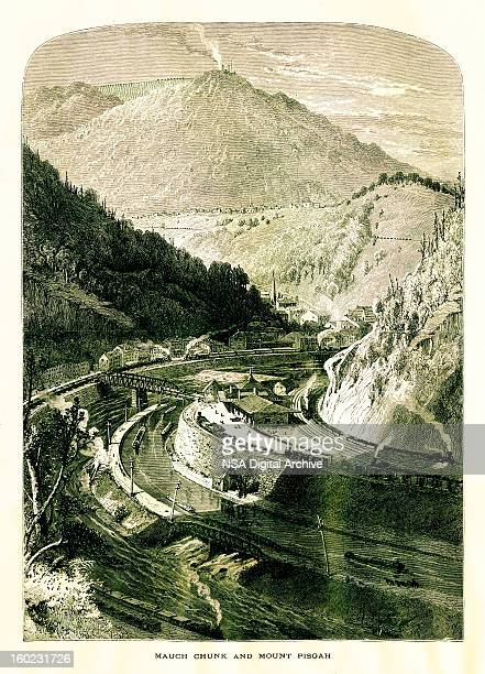 Mauch Chunk and Mount Pisgah, Pennsylvania