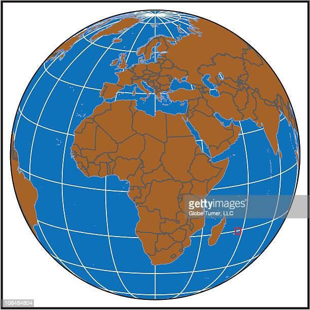 Mauritius locator map