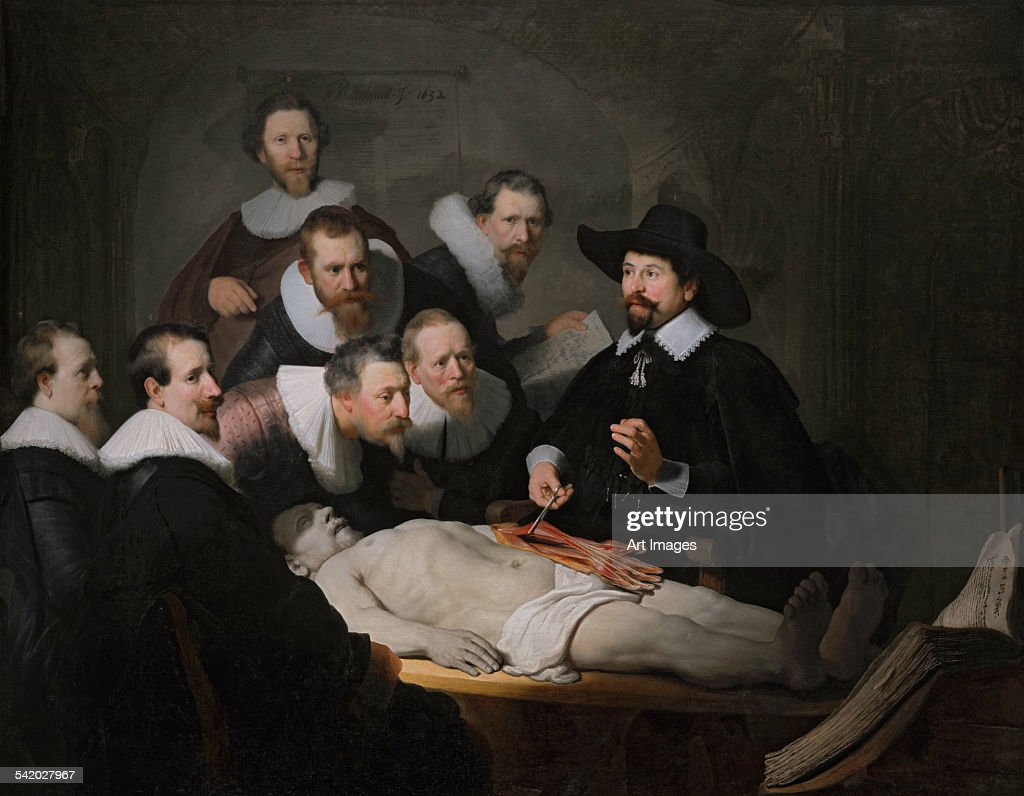The Anatomy Lesson Of Dr Nicolaes Tulp 1632 Fine art | Getty Images