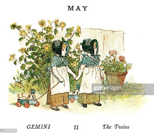 May - Kate Greenaway, 1884