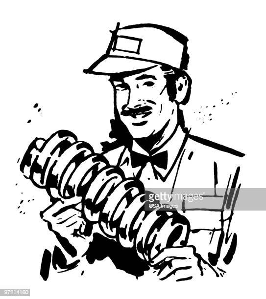 Mechanic Holding coil