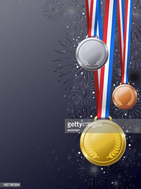 Medals Awards Background