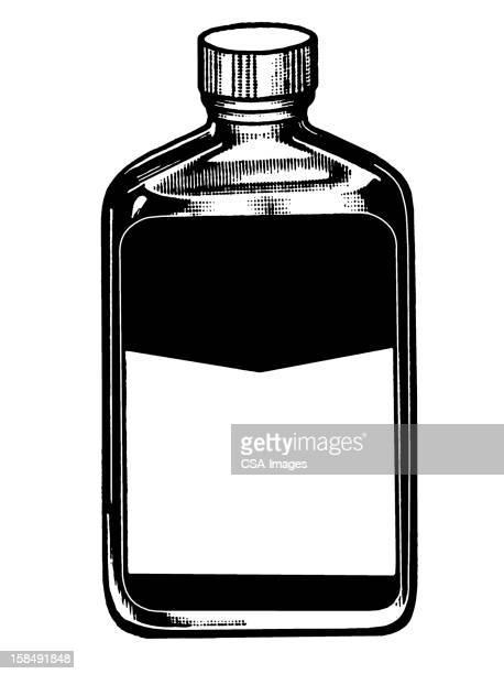 医学ボトルが空白のままで表示