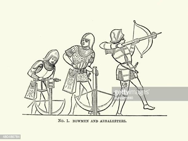 Medieval Arbalesters e Crossbowmen