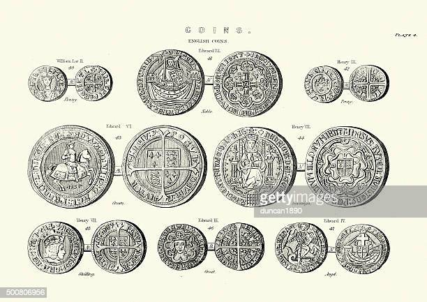 60 Top British Coins Stock Illustrations, Clip art, Cartoons