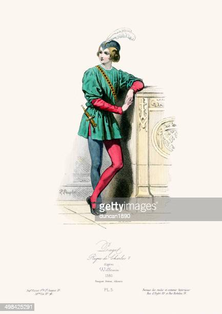 Medieval Fashion Reign of Charles V