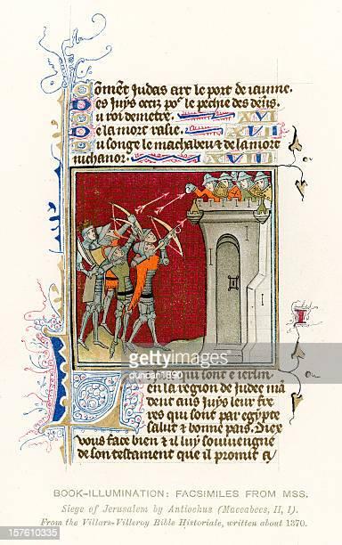 Medieval Illumination Siege of Jerusalem