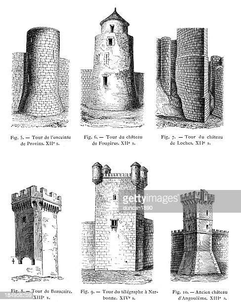Medieval Towers of Battlements