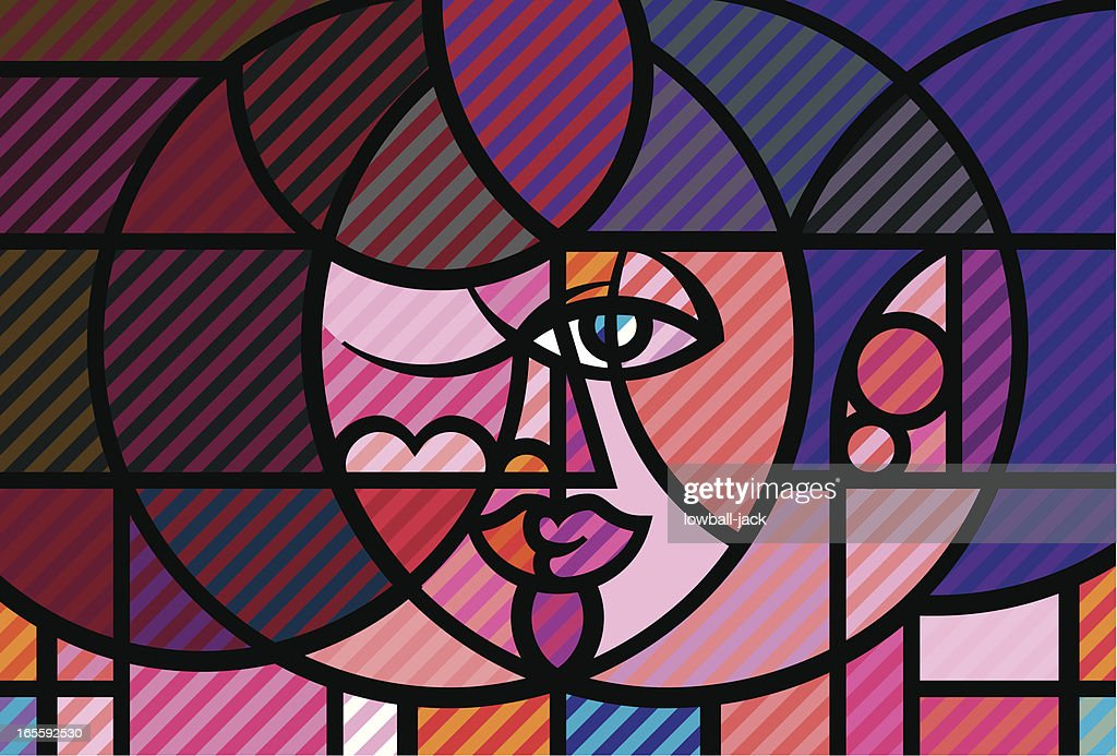 Meet Soul On Lovers' Lips : stock illustration