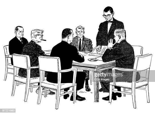 meeting - meeting stock illustrations