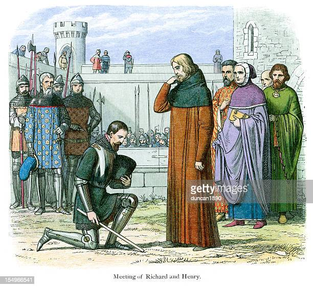 Meeting of Henry and Richard