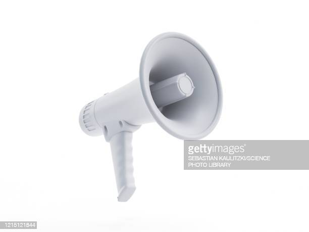 megaphone, illustration - megafon stock-grafiken, -clipart, -cartoons und -symbole