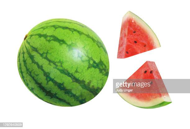melon and wedges - watermelon stock illustrations