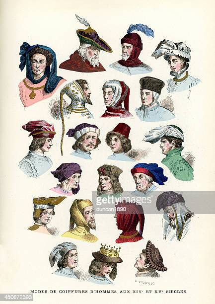 Mens Headwear 15th and 16th Century