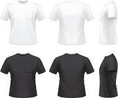 Men's T-shirt with pocket