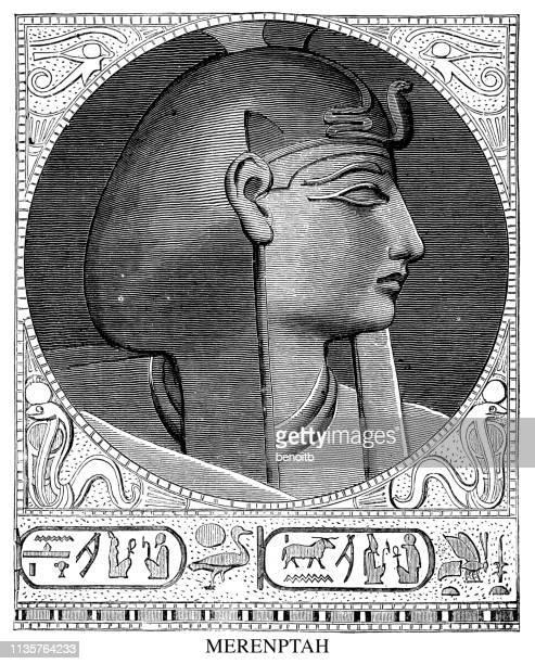 illustrations, cliparts, dessins animés et icônes de merenptah - hiéroglyphe