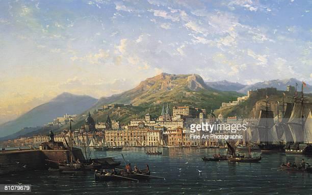 messina harbour, sicily, italy - 都市景観点のイラスト素材/クリップアート素材/マンガ素材/アイコン素材