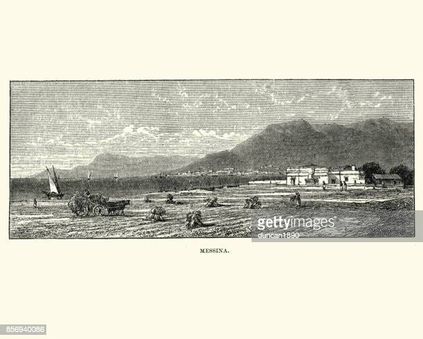 Messina, Sicily, 19th Century