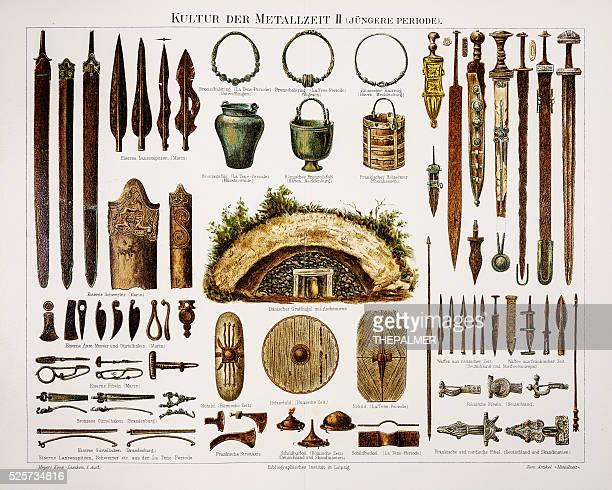 Metal bronze weapons 1895