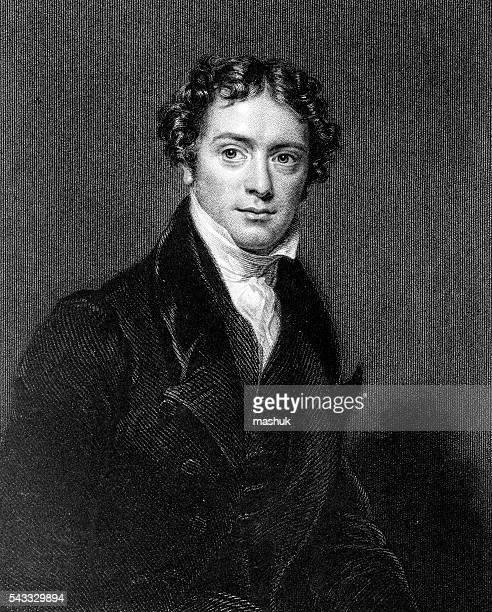 michael faraday english scientist - michael faraday stock illustrations, clip art, cartoons, & icons