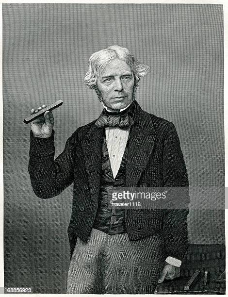 michael faraday - michael faraday stock illustrations, clip art, cartoons, & icons
