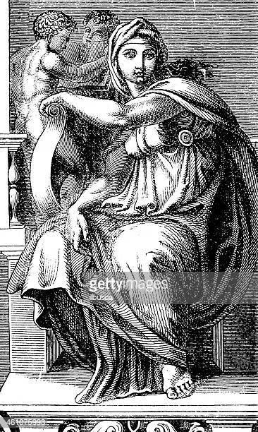 Michelangelo's Sibilla Delfica
