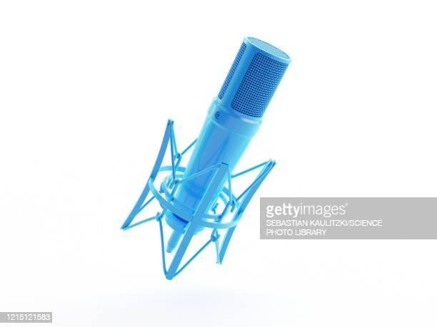 microphone, illustration - microphone stock illustrations